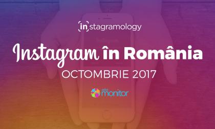 Statistici Instagram Romania – Octombrie 2017
