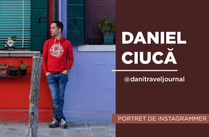 Daniel Ciuca portret instagrammer