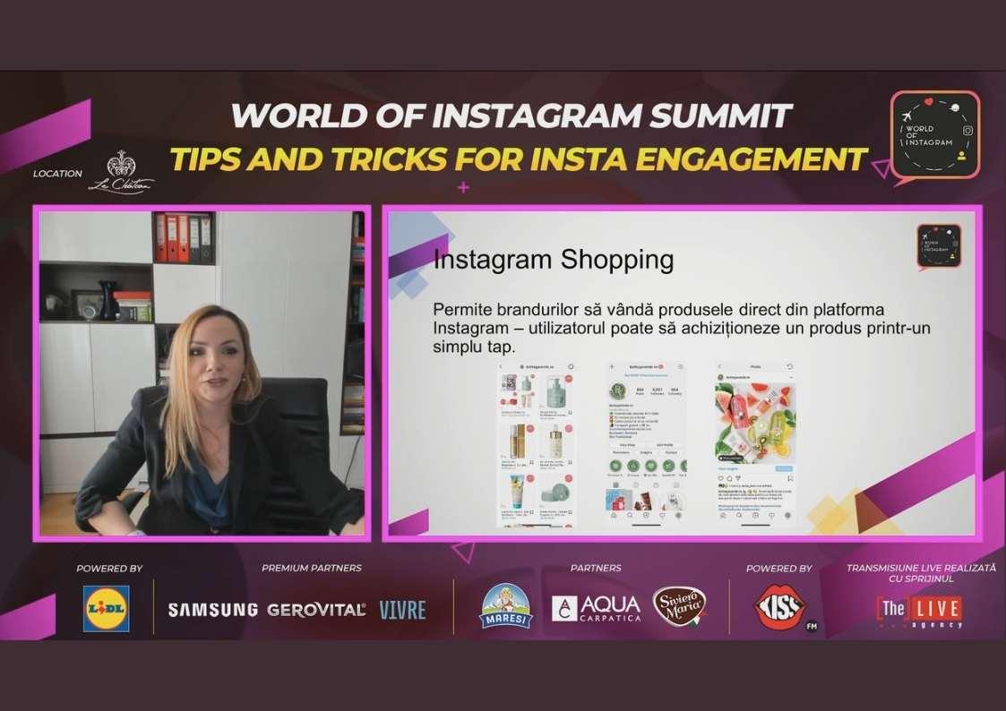 Bune practici pentru Instagram Shopping | World of Instagram Summit 2020